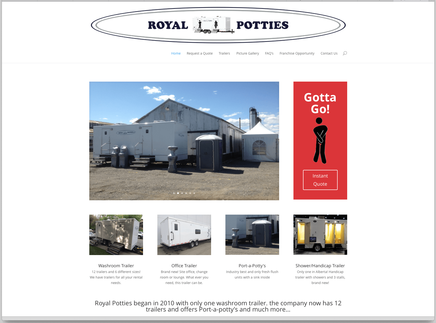 Royal Potties